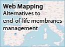 Webmapping of alternatives to end-of-life membranes management