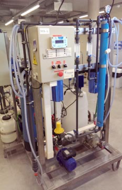 Spiral wound Reverse Osmosis pilot system